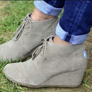 TOMS Boot Wedges